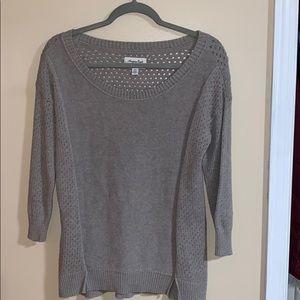 American eagle quarter sleeve sweater